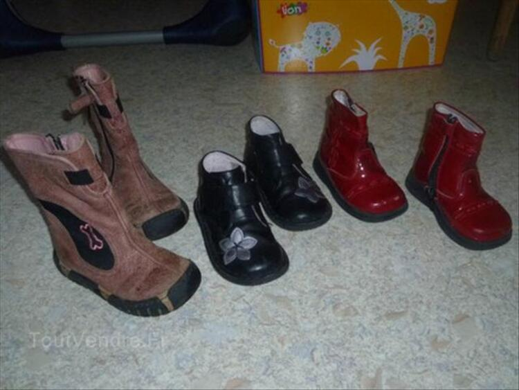 Lot chaussures fille - T. 20-21-22-23-25 67989465