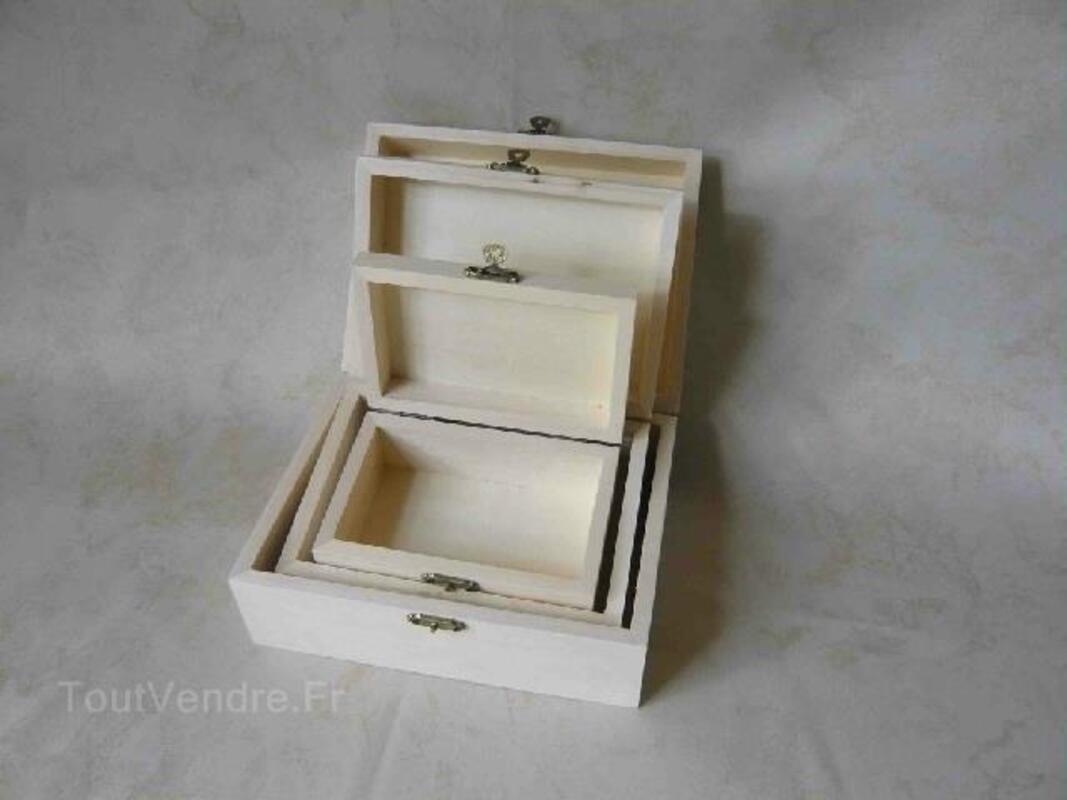 Lot d'objets en bois bruts (prix grossistes) 93008418