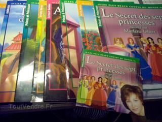 Lot de 10 livres+CD raconté p Marlène Jobert  le secret