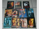 Lot de 11 DVD: XXX, Payback, Sleepy Hollow, ...