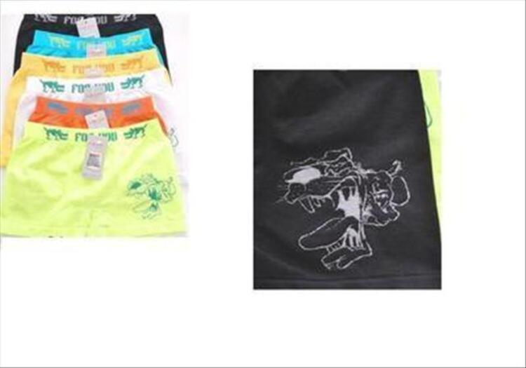 Lot de 12 boxers enfant 76743465