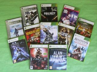 Lot de 12 jeux XBOX 360