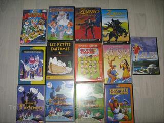 Lot de 13 DVD  Dessins animés