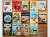 Lot de 14 BD Tintin edition originale