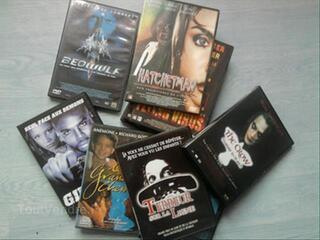 Lot de 15 dvd