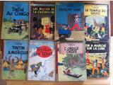 Lot de 16 tintin anciens dont edition original !!!!!!
