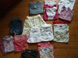 Lot de 19 vêtements fille T 6 ans