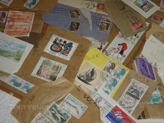 Lot de 190 timbres FR /europe/monde:1900à1987