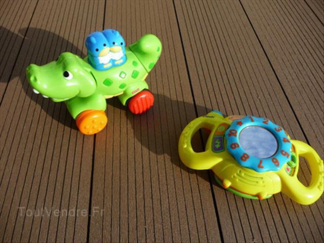 Lot de 2 petits jouets FISHER PRICE + VTECH 86892279