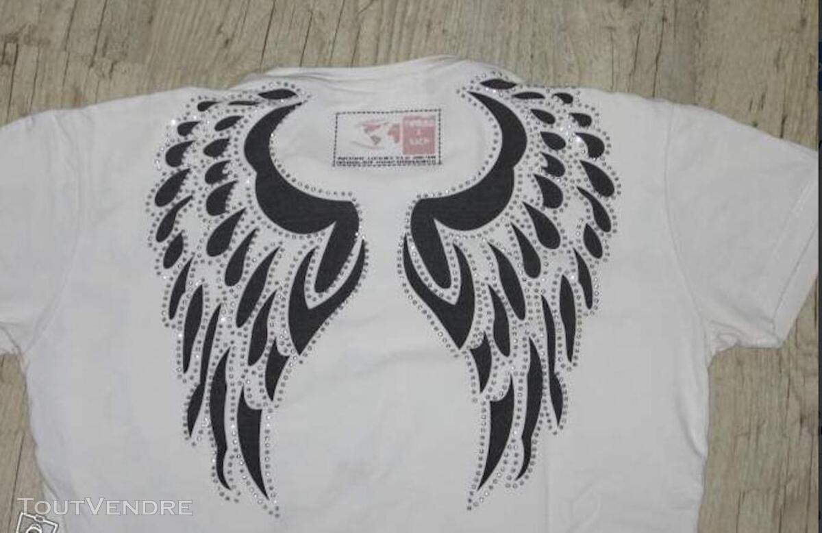 Lot de 2 tee shirt Henleys + Rerock (taille M) 292008749