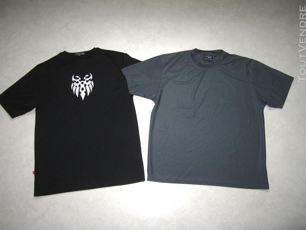 Lot de 2 tshirt de sport pour homme taille XL 291521804