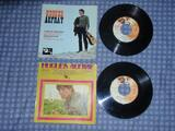 Lot de 2 vinyles 45 tours SP  Hugues Aufray