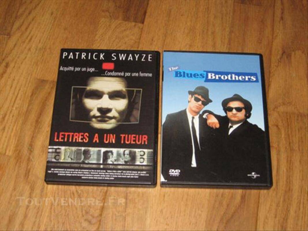 Lot de 20 DVDs de films (lot ou unité au choix) 74021083