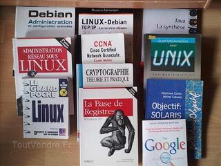 Lot de 23 livre informatique à 50 euros