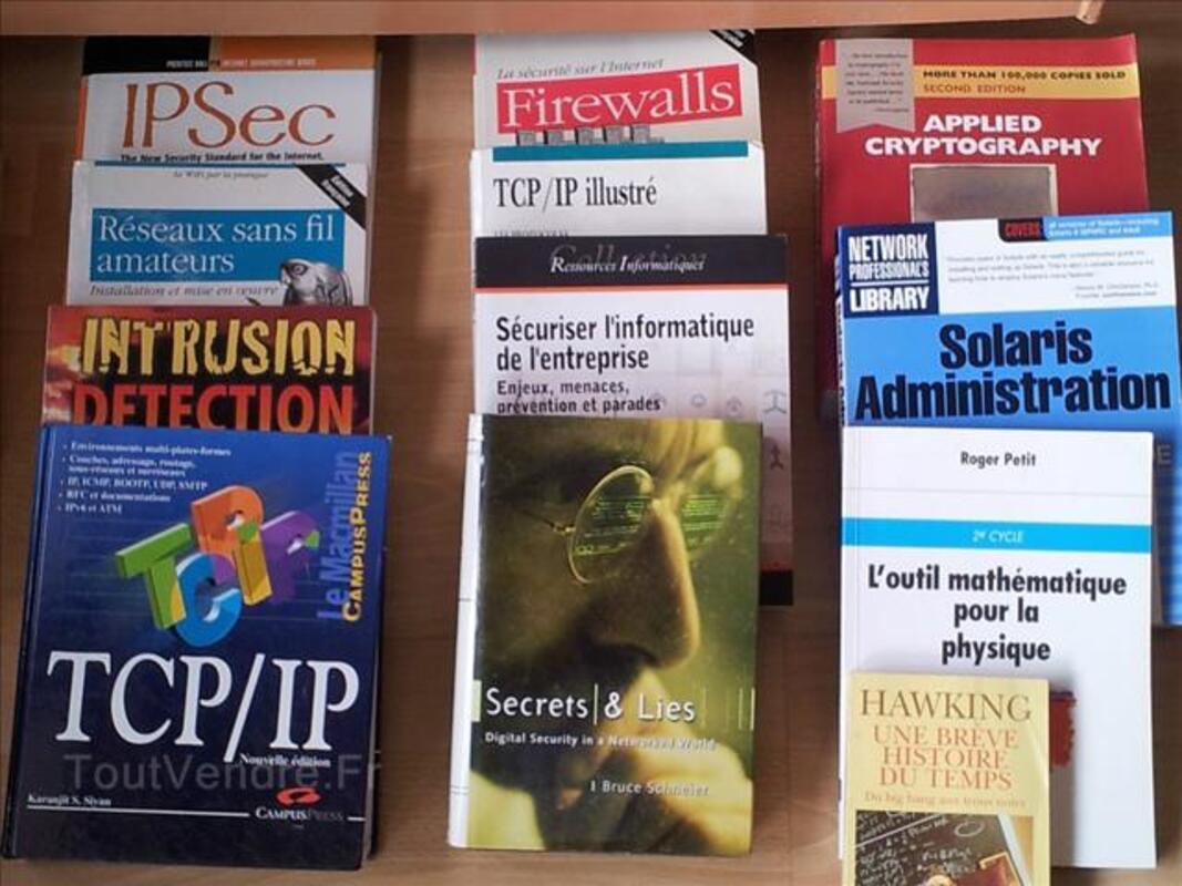 Lot de 23 livre informatique à 50 euros 72291194