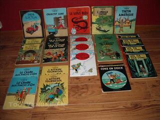 Lot de 23 Tintin