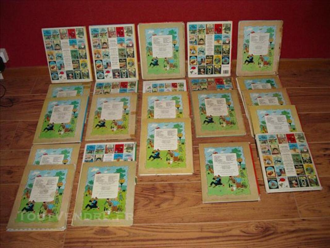 Lot de 23 Tintin 74026963