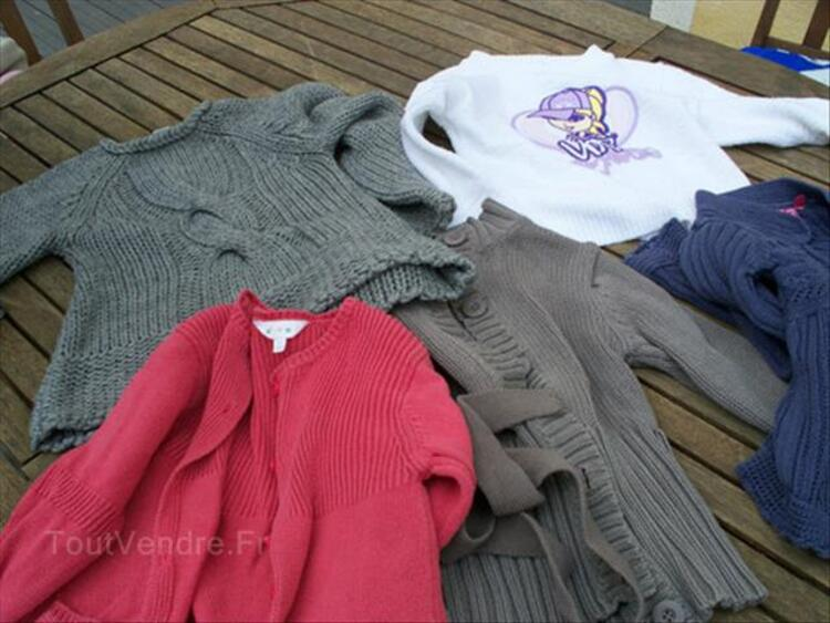 Lot de 25 vetements fille 4 ans 87850168