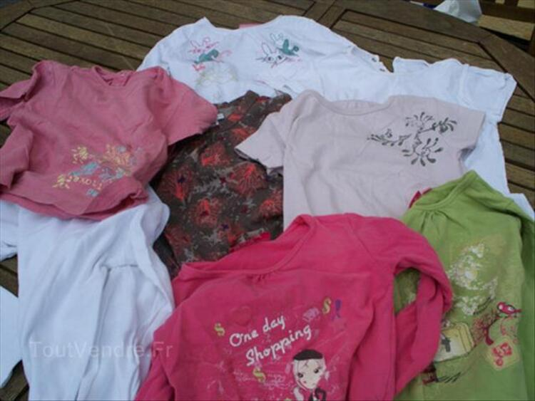 Lot de 25 vetements fille 4 ans 87850170