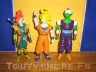 Lot de 3 personnages dragon ball
