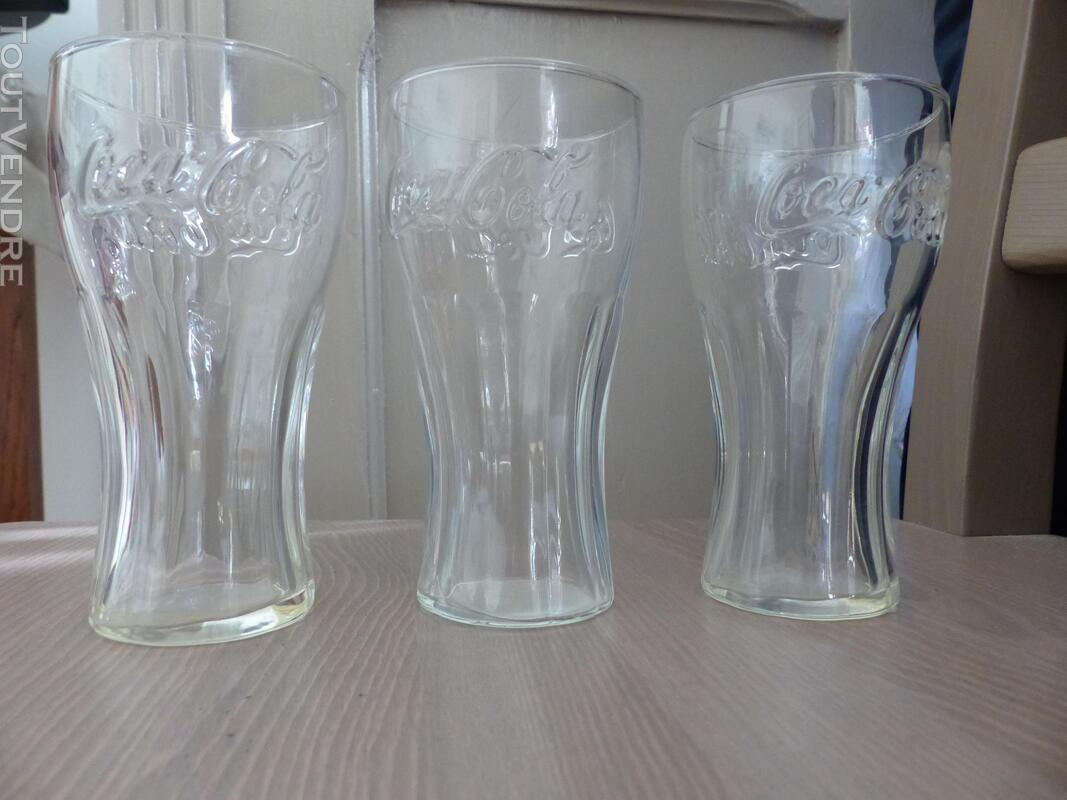 Lot de 3 verres Coca Cola 313725146