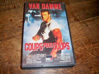 Lot de 4 Cassettes video VHS VAN DAMME