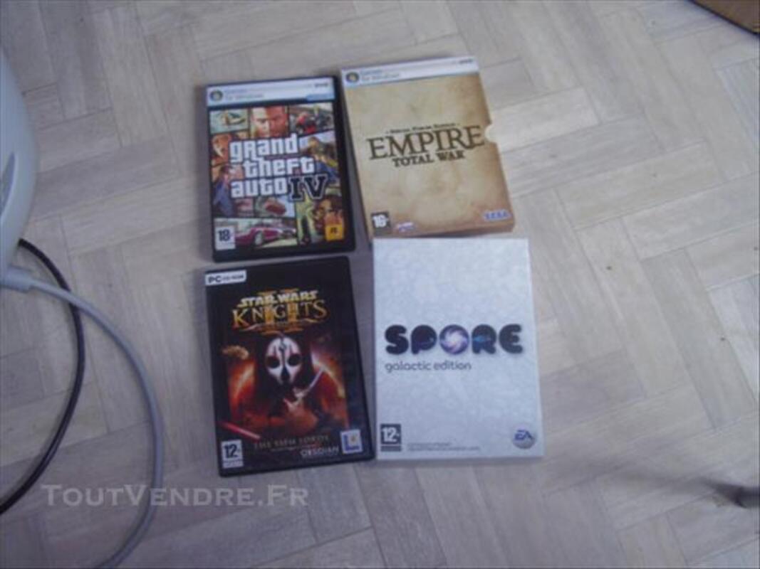 Lot de 4 jeux pc 86290982