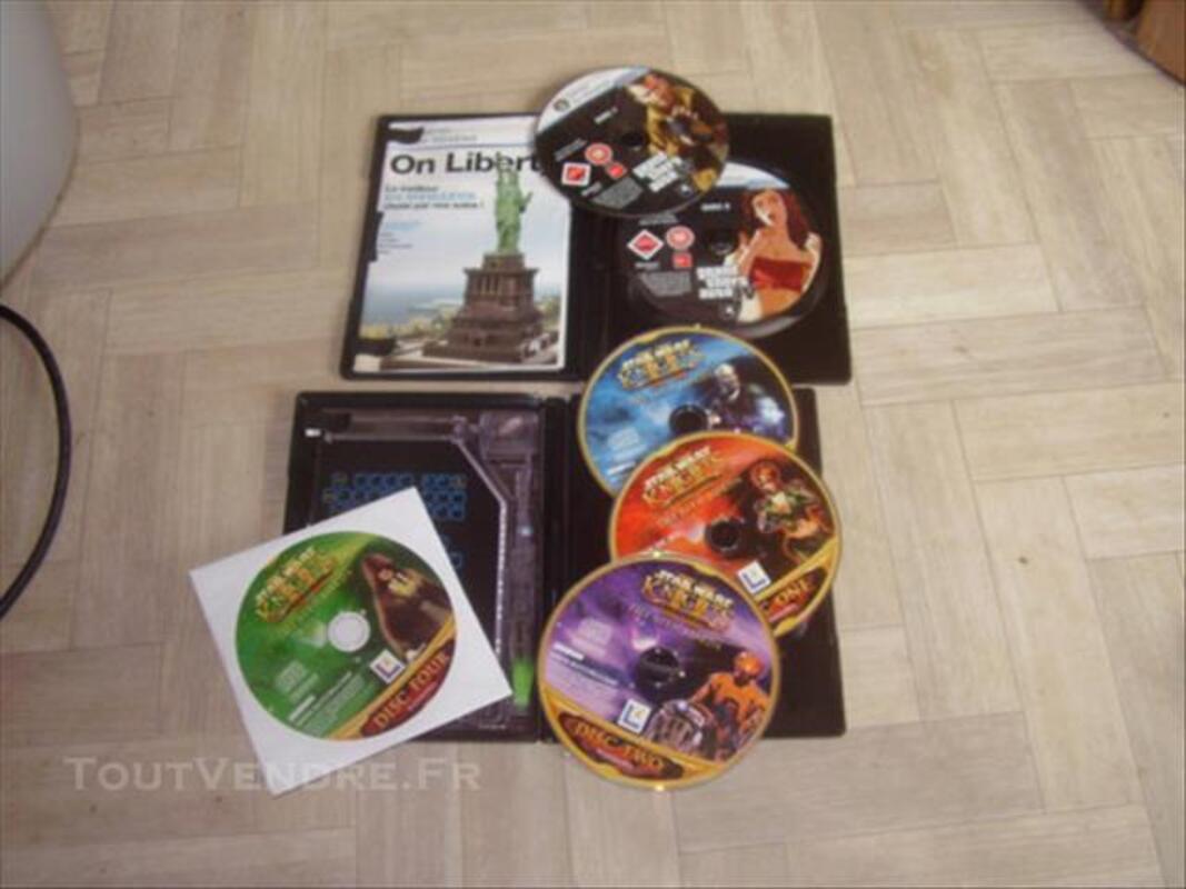 Lot de 4 jeux pc 86290983