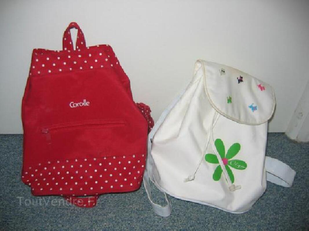 Lot de 4 sacs 'Corolle' 'Chipie' 'Nike' 91925552
