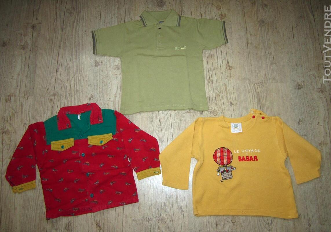 Lot de 4 vêtements mixtes 3 ans + 3 offerts 294030485