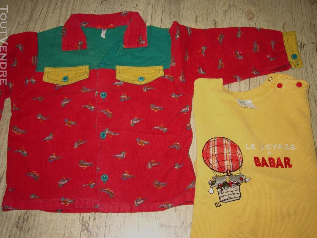 Lot de 4 vêtements mixtes 3 ans + 3 offerts 294030707