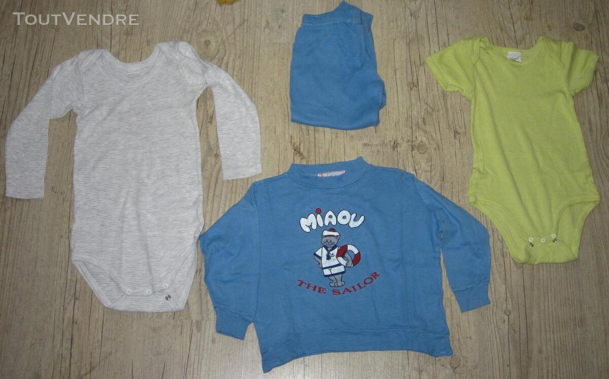 Lot de 4 vêtements mixtes 3 ans + 3 offerts 294030854