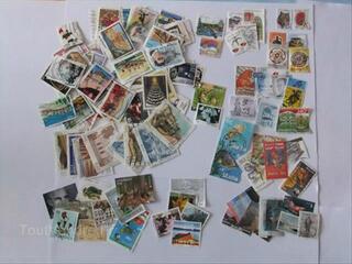 Lot de 483 timbres de pays Européens