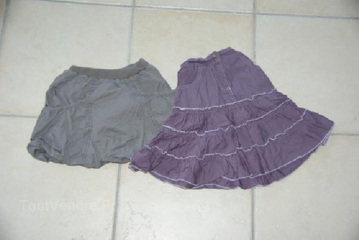 Lot de 5 jupes fille taille 3, 4 et 5 ans 105419209