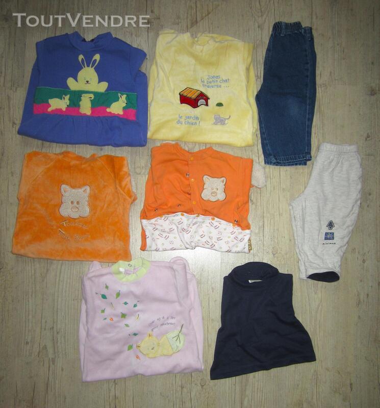 Lot de 5 pyjamas + 2 pantalons taille 12 mois / 1 an 293672848