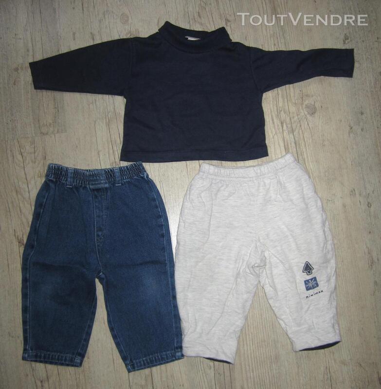 Lot de 5 pyjamas + 2 pantalons taille 12 mois / 1 an 293673097