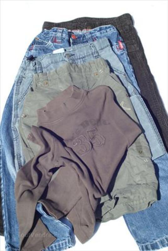 Lot de 5 vêtements garçon  7 à 10 ans ( lot n2) 66077748