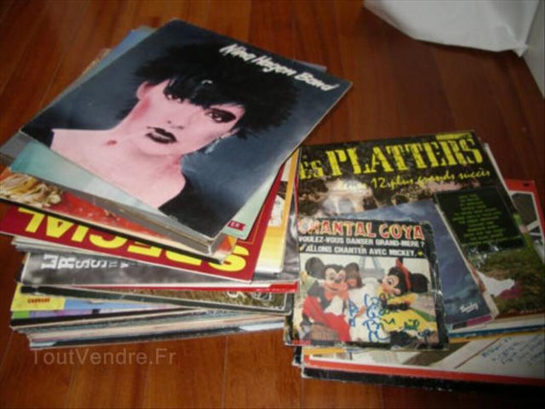 Lot de 63 vinyles 56544742
