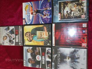 Lot de 7 jeu de PC