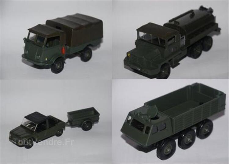Lot de 9 véhicules militaires solido dinky 64437401