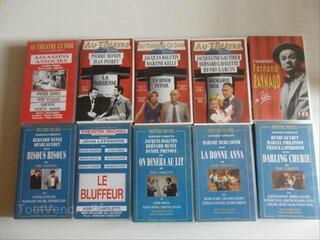 Lot de cassettes vidéos