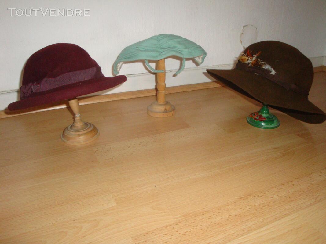 """Lot de chapeaux """"vintage"""" plus cols fourrure 149321527"""