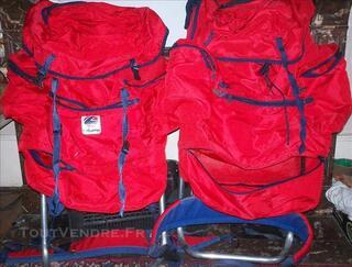 Lot de deux sacs a dos de randonné Lafuma à armatures