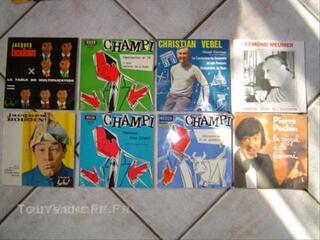 Lot de disques 45 t