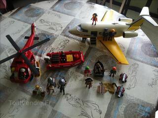 Lot de divers playmobil