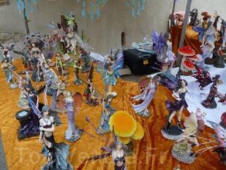 Lot de Fées, santons, crèches, anges