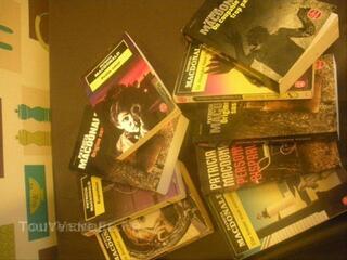 Lot de livres patricia Mac Donald