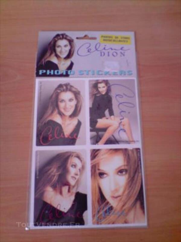Lot de stickers Céline Dion 86004543