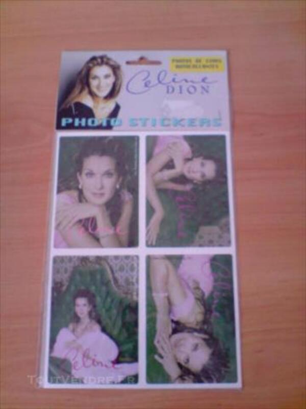 Lot de stickers Céline Dion 86004544