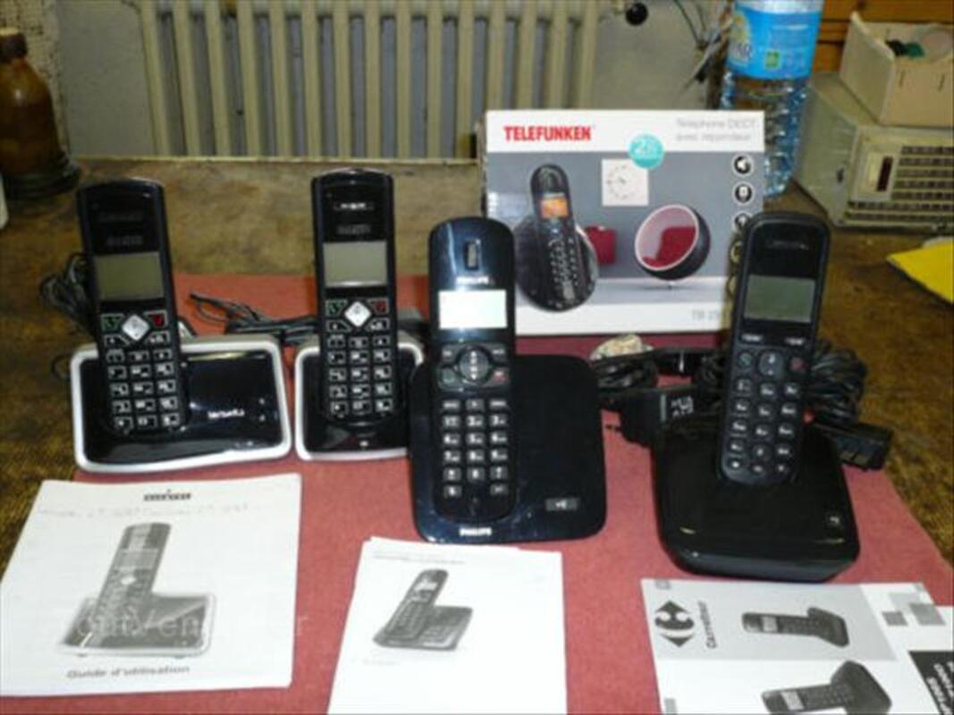 Lot de téléphonnes sans fil 56573914